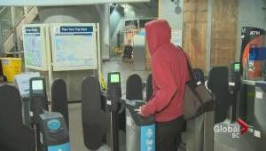 Commuters take fare gates closing in stride