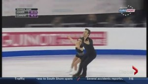 A personal best for skaters Eric and Meagan