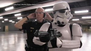 Texas police force creates 'Star Wars' parody recruitment video