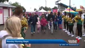 Edmonton children enjoy annual K-Days event