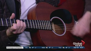 Dave Quanbury and Jamie Wright perform on Global News Morning