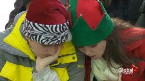 Parents stress as kids count the days until Christmas