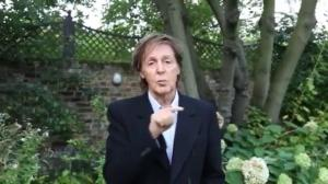 Paul McCartney makes a pitch for 'Meat Free Monday'