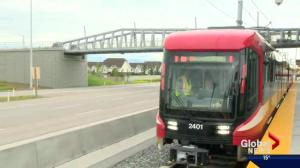 Calgary unveils Mask CTrain cars