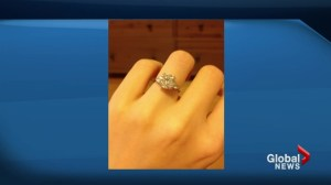 Toronto woman offering cash reward for lost engagement ring