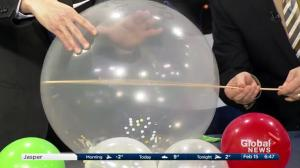 Cool Science: How to puncture a balloon without popping it