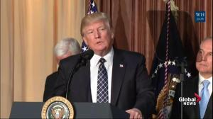 Trump says rolling back climate change 'overreach' to create jobs