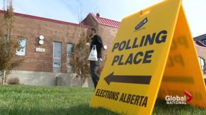 Alberta waits for outcome of possibly historic election