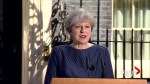 British PM Theresa May calls for early election