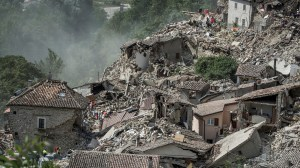 Where did the earthquake happen in Italy?