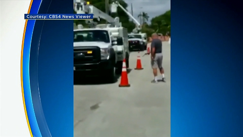 Florida Man Casually Shoots Out Tires, Engine Block Of AT&T Truck
