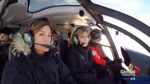 Jane Fonda tours Alberta oilsands