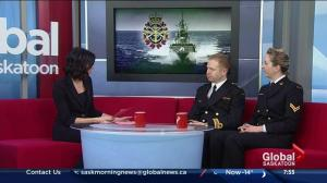 HMCS Unicorn open house