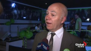 NB Election: Global News tells David Coon he's won riding