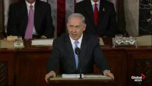 Netanyahu thanks President Obama for his support of Israel