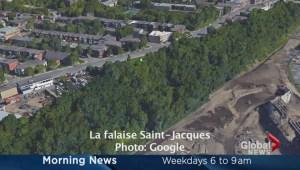 Saint-Jacques escarpment contaminated?