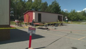Condition of portable classrooms at Bedford school leaves parents concerned
