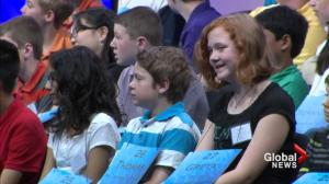 Canadian students at Scripps National Spelling Bee