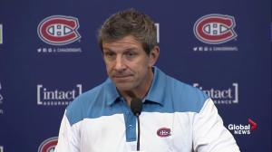 Marc Bergevin discusses negotiating a new contract for Cary Price