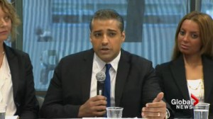 Mohamed Fahmy slams Harper government's involvement while detained in Egypt