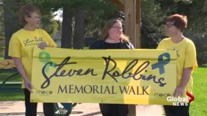 Late mental illness sufferer's family changing stigma with memorial walk