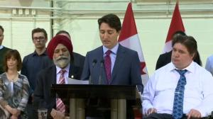 Trudeau 'reminded that the challenges Calgary is facing are not sector specific'