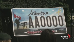 Charity Alberta licence plates