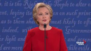 Presidential debate:  Hillary Clinton blasts Donald Trump's plan to lower taxes for the wealthy as 'Trumped Up Trickle Down' economics