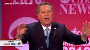 Kasich says 'Clinton will win' if republicans keep insulting each other