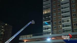 Edmonton man alerted people to fatal apartment fire