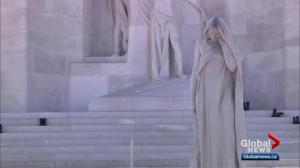 Edmonton connection to Mother Canada statue in Vimy Ridge