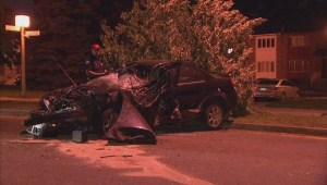 Police search for driver after car abandoned at crash site