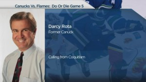 Former Vancouver Canuck Darcy Rota on Game 5