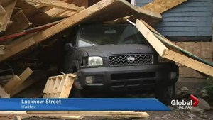 Man rescued after building collapse