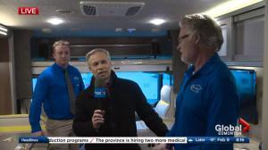 Edmonton RV Expo features motorhomes of all sizes