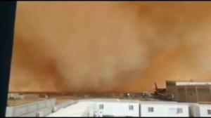 Incredible sandstorm strikes Jordan