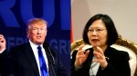 "China labels Trump call ""petty action"" by Taiwan"