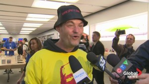 Marathon wait is over for iPhone 6 buyers