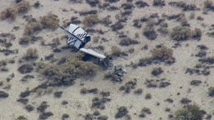 Virgin Galactic ship crashes during test flight
