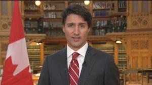 Trudeau wishes Canada happy birthday
