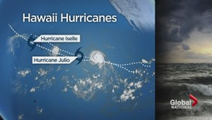 Hurricanes headed towards Hawaii