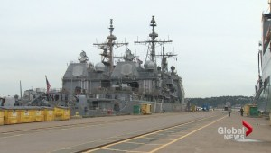 NATO ships arrive in Halifax ahead of training exercise