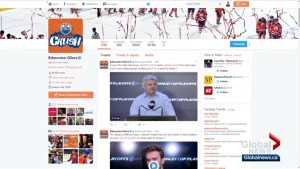 Edmonton Oilers gain 26,000 Twitter followers during NHL playoffs