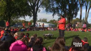 Kahnawake commemorates Orange Shirt Day