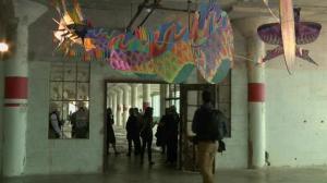 Alcatraz Island transformed into art exhibit honoring world's political prisoners