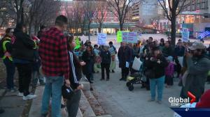 Edmontonians attend Take Back the Night march