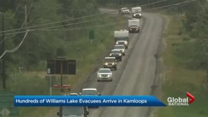 B.C. Wildfires: Thousands forced to flee Williams Lake, B.C as fire grows