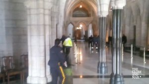 Exchange of gun fire in Parliament Hill building