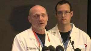 Doctors at Oregon hospital describe the condition of the most seriously-injured UCC shooting victim