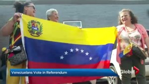 Venezuelans around the world vote in unofficial referendum